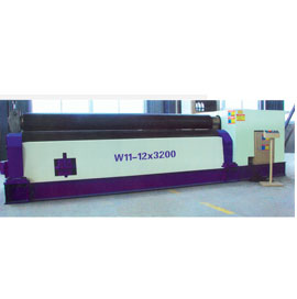 Mechanical type three roller symmetrical bending machine