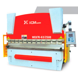 WC67K series economic numerical control sheet metal bending machine